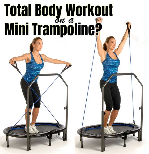 Mini Trampoline Workout at Home [20-Minute, Full-Body]