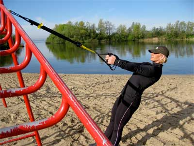 TRX Portable Home Gym   Take It To The Park, On The Road, Use